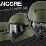 Nouveau casque moto