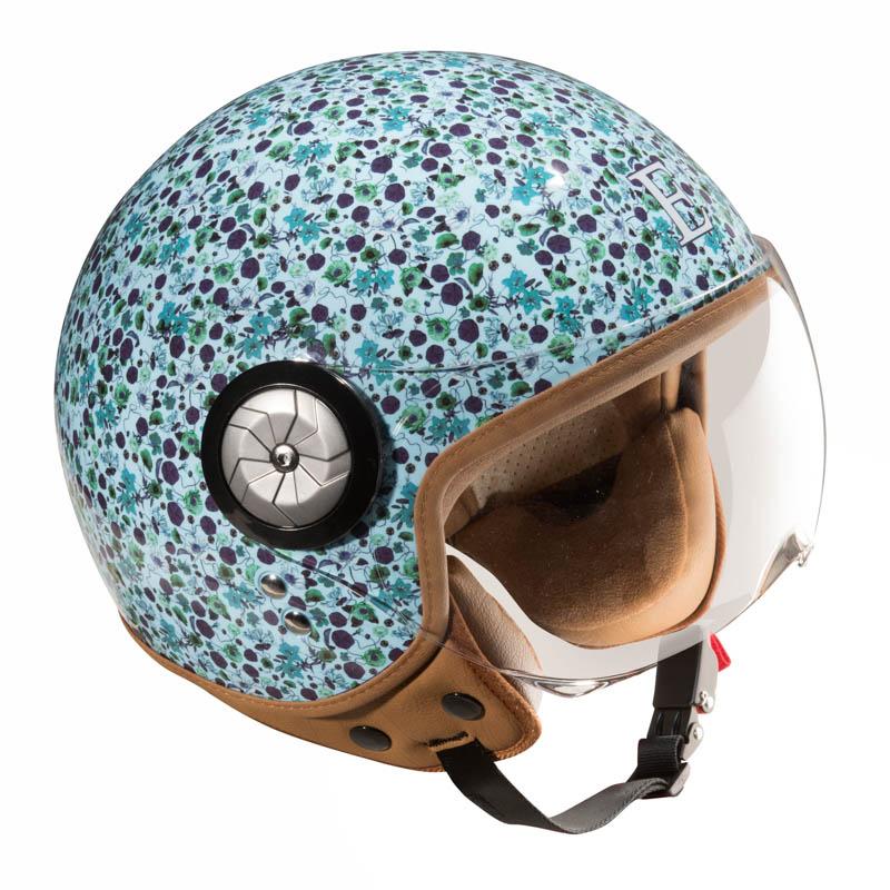 casque moto femme bleu univers moto. Black Bedroom Furniture Sets. Home Design Ideas