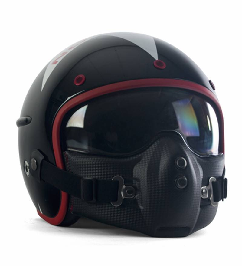 casque moto style aviateur univers moto. Black Bedroom Furniture Sets. Home Design Ideas