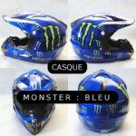 Casque moto monster pas cher