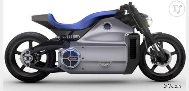 moto electrique puissante univers moto. Black Bedroom Furniture Sets. Home Design Ideas