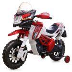 Moto enfant rouge