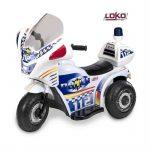 Moto police electrique