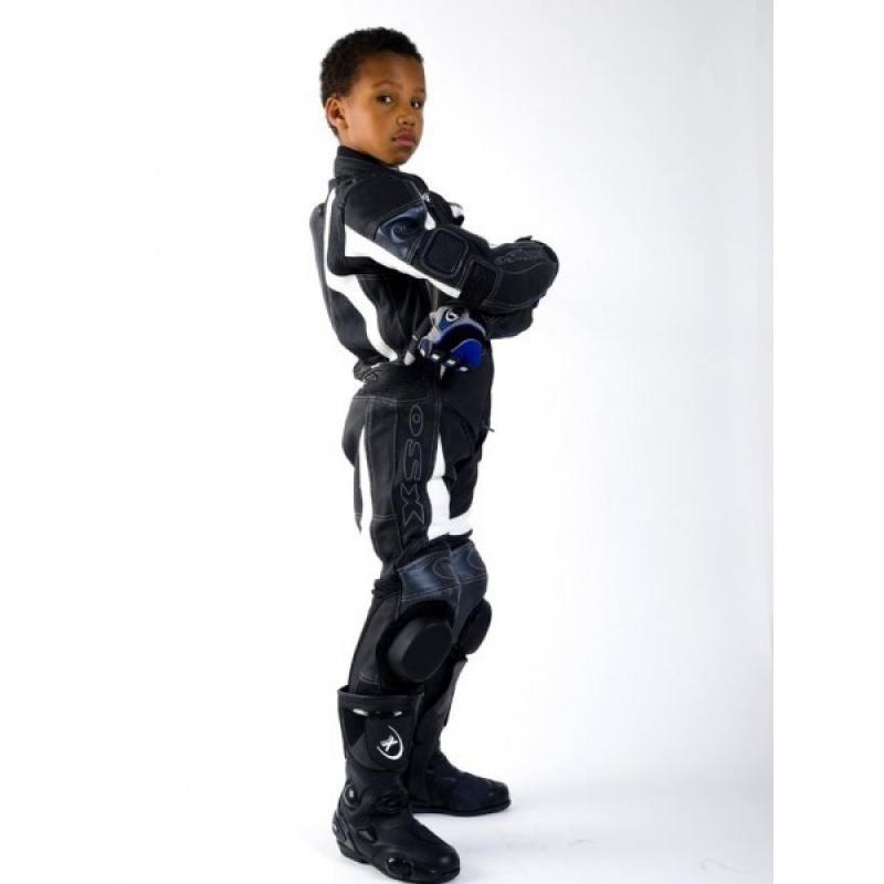 combinaison cuir moto enfant univers moto. Black Bedroom Furniture Sets. Home Design Ideas
