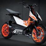 Nouveau scooter electrique