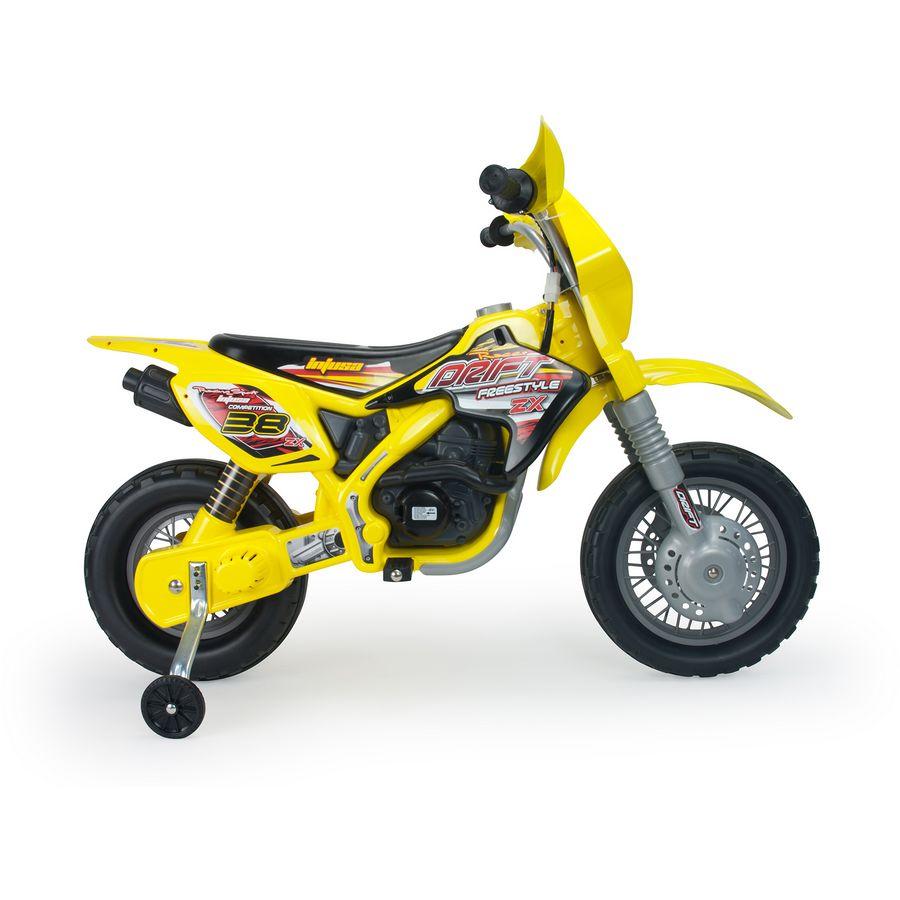 moto enfant jaune univers moto. Black Bedroom Furniture Sets. Home Design Ideas