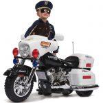 Moto electrique police