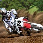 Motocross honda