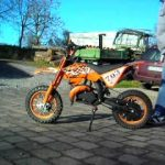 Pocket bike cross 50cc