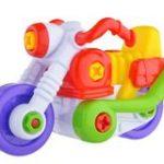 Petite moto en jouet