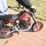 Moto pocket bike cross