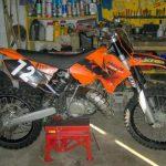 Moto 125 à vendre