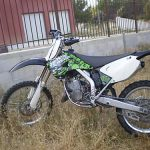 Moto cross 125cc occasion