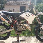 Cross moto occasion