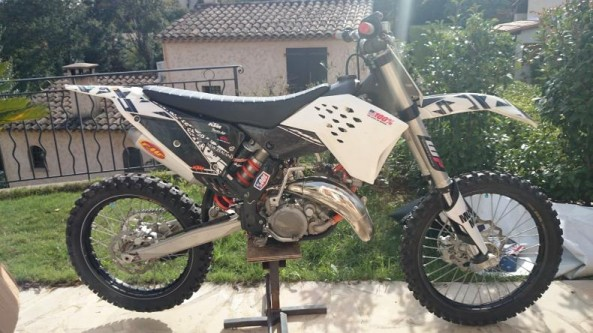 Moto cross 125cc occasion