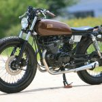 Moto 125 cafe racer occasion