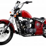 Moto 125 custom occasion
