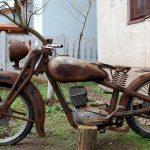 Moto ancienne a vendre 125