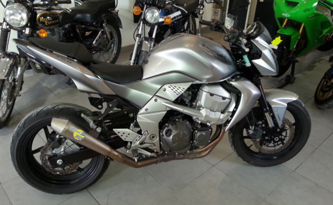 Garage moto occasion