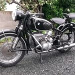 Moto bmw ancienne a vendre