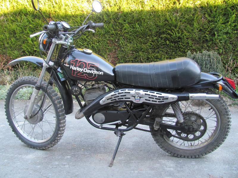 moto 125 harley davidson occasion univers moto. Black Bedroom Furniture Sets. Home Design Ideas