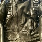 Blouson cuir moto dafy