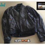 Blouson cuir moto spool