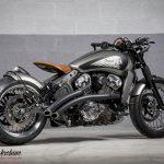 Moto custom occasion paris