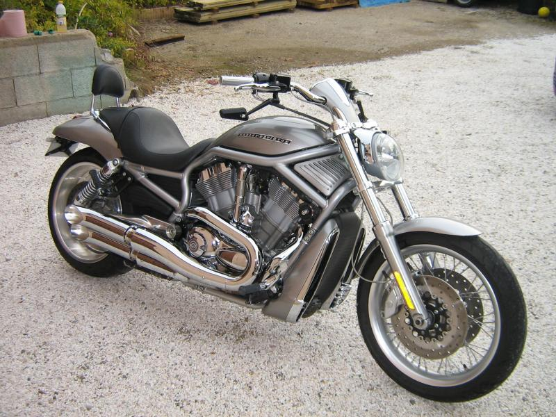 Custom moto occasion