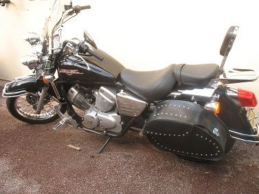 Moto custom honda shadow occasion