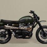 Garage triumph moto