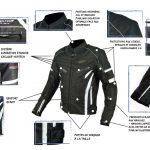 Taille 6 blouson moto correspondance