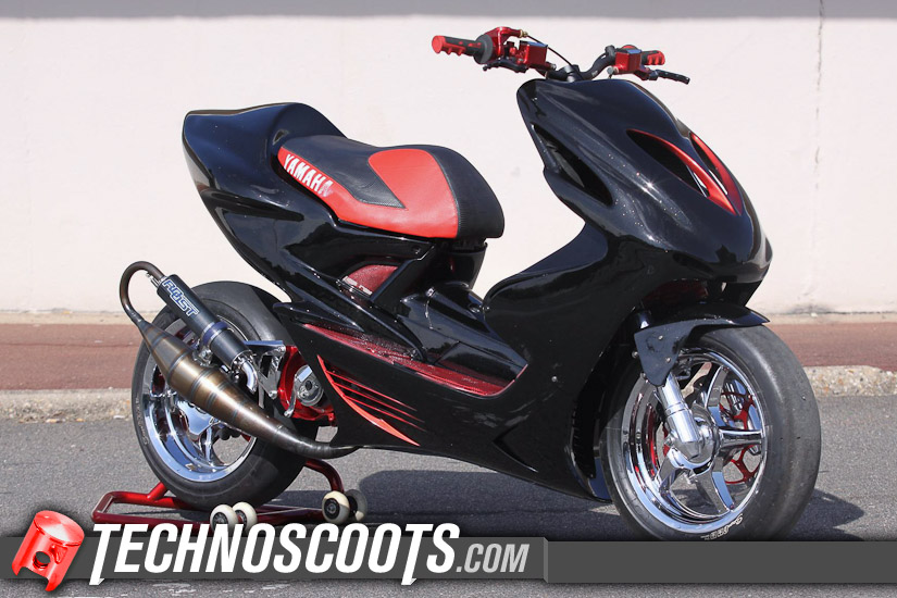 Yamaha scooter occasion 50cc