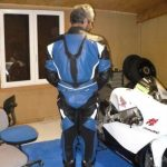 Reparation cuir moto