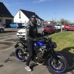 Bosse blouson moto