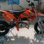 Achat moto cross 50cc occasion