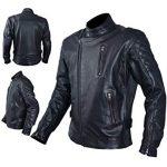 Protection amovible blouson moto