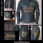 Blouson indian moto