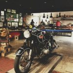 Atelier de moto