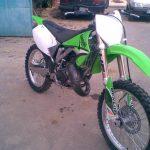 Moto cross occasion 125cc kawasaki
