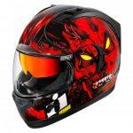 Blouson moto icon tete de mort