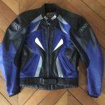 Blouson cuir moto ixs