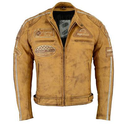 Blouson moto vintage