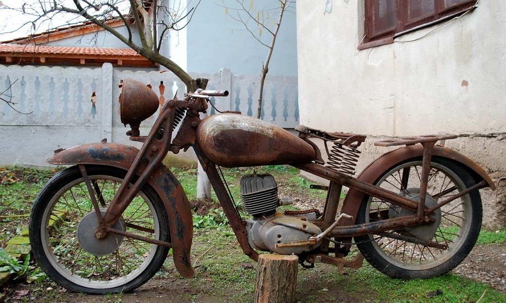 Vieille moto pas cher