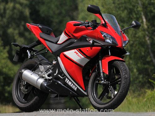 Yamaha moto 125 prix