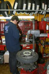 Prix réparation pneu crevé scooter