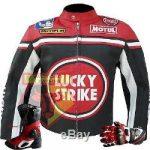 Blouson lucky strike moto