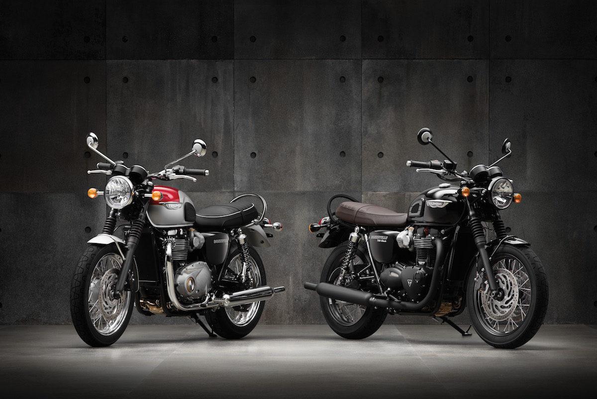 Blouson moto triumph bonneville