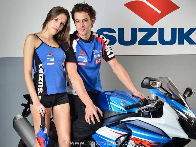Vetement suzuki moto
