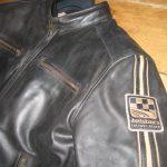 Blouson cuir homme moto occasion
